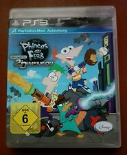 Disney Phineas und Ferb - Quer durch die 2. Dimension USK 6 PAL (PS3 Playstatio