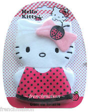 Hello Kitty Cute French Gant Mitten Washcloth Towel Purchased in PARIS RARE New