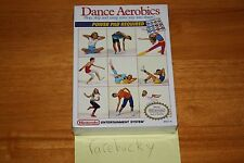 Dance Aerobics (Nintendo NES) - NEW SEALED H-SEAM MINT!