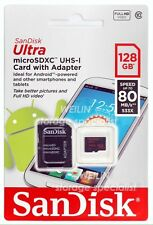 SANDISK Ultra 128GB 80MB/s micro SD SDXC MEMORY Card 128G microSDXC class 10 UHS