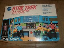 STAR TREK BRIDGE PLAYSET USS MEGO COMPLETE UNUSED IN BOX MIB 1974