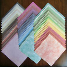 """LOT of 60 Sheets of 12"""" x 12"""" Scrapbook Paper from DCWV TIMELESS TEXTURE STACK"""