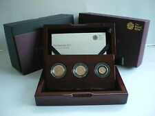 2017 ROYAL MINT UK GOLD THREE 3 COIN PROOF SOVEREIGN SET (in stock)