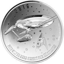 2016 Canada $20 Fine Silver Coin - Star Trek - Enterprise