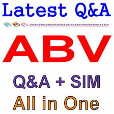 Accredited in Business Valuation ABV Exam Q&A PDF+SIM
