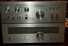 Vintage Kenwood KT 5300 Tuner & KA 3500 Amp