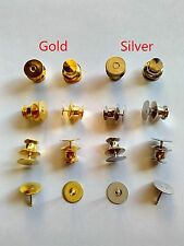 flat fast locking pin keepers and tie tacks scatter blank pad for buckle jewelry