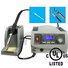 ATTEN AT201D 110V 60W LCD Soldering Station Therm-Control Anti-Static Lead Free