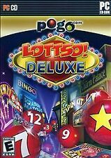 Pogo.com LOTTSO! Deluxe PC CD-ROM Software FACTORY Sealed