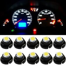 10xWhite T4 T4.2 1SMD 1210 Instrument LED Light Bulb Neo Wedge Panel Gauges Lamp