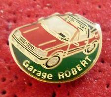RARE PIN'S VOITURE PEUGEOT 205 CTI CABRIOLET GARAGE ROBERT