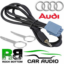 AUDI Concert Factory monté voiture MP3 iPod iPhone aux in input jack 3.5mm câble