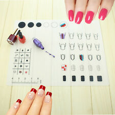 New Nail Art Soft Silicone DIY Stamping Plate Transfer Mat Sheet Table Mat Tools