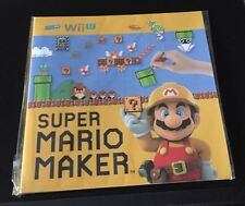Super Mario Maker 7 Pin Button Set Nintendo Wii U New Limited 30th Anniversary