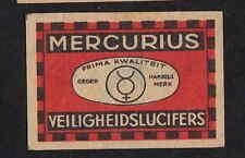 Ancienne  étiquette allumettes Autriche  BN4799 Mercurius