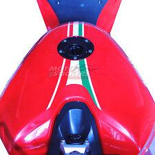 DUCATI  1098 - fascia adesiva serbatoio tricolore - racing decal