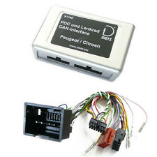 Park Distance Control + CAN BUS Interface Radio Lenkrad Adapter Citroen C2 C3 C4