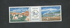 F.S.A.T. Scott # C24&C25 French Southern & AntarcticTerritory, Air Post Stamps