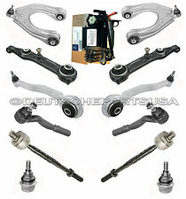 Mercedes W211 OEM SUSPENSION COMPRESSOR + Control Arm Ball Joint Tie Rod Kit