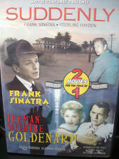 Suddenly/The Man With The Golden Arm (DVD, 2004) Sinatra WORLDWIDE SHIP AVAIL!