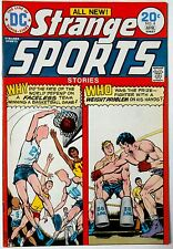 Strange Sports Stories #4 VF DC 1974