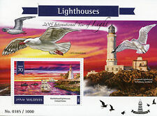 Maldives 2015 MNH Lighthouses Int Year of Light 1v S/S Marblehead Lighthouse USA