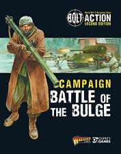 Warlord Games Bolt Action BNIB Battle of the Bulge Book (w/ Model) WGB-401010002