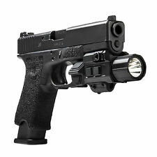 NCSTAR VAPFLSGV3 TACTICAL GEN3 PISTOL FLASHLIGHT W/ STROBE & GREEN LASER COMBO
