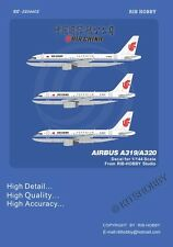 RIBHOBBY decal 1/144 Airbus A319/A320 - Air China