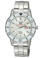 Seiko 5 SRP189 K1 Midsize Day Date ST Steel Diver's Watch