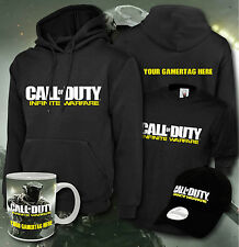 Call of duty infinie warfare custom gamer tag sweat à capuche cap mug t-shirt ensemble cadeau