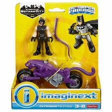 Imaginext DC Super Amis Rues of Gotham City Catwoman and Moto