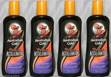 LOT OF 4 AUSTRALIAN GOLD BRONZE ACCELERATOR BRONZER NEW 2015 LOTION + GOGGLES