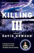 DAVID HEWSON __ THE KILLING 3 __ BRANDNEU C FORMAT __ WERBEANTWORT UK