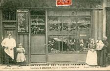 CPA 66 PERPIGNAN HOTEL RESTAURANT DES PETITES MARMITES E.MOURIER RUE DE LA FUSTE