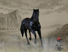 "303 Toys 1/6 Scale Black Horse for 12"" Action Figure No. 102"