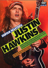 Justin Hawkins Guitar Masters Instructional DVD CD LEARN to Play THE DARKNESS