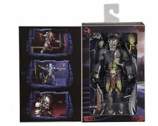 "NECA PREDATOR SCARFACE 7"" ULTIMATE DELUXE Action Figure CONCRETE JUNGLE Aliens"