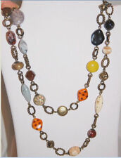 New NIB Premier Designs Jewelry Wild At Heart gold beads Necklace