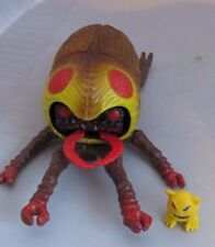 Vintage 1985 ROCKS & BUGS & THINGS -  Evil Beetle Bug figure, MordIe, Ideal