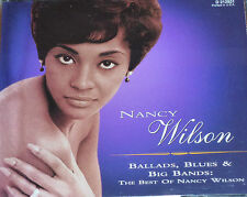 NANCY WILSON - BALLADS, BLUES & BIG BANDS - 3CDS - NEAR MINT CONDITION