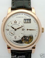 A. Lange & Söhne Tourbillon lunga 1 Rotgold di 2003 NEW OLD STOCK M. Box & zert
