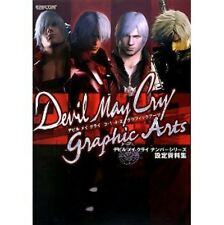 Devil May Cry 3/1/4/2 graphic arts analytics book / PS2 / PS3 / XBOX360