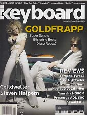 FEB 2006 KEYBOARD vintage music magazine GOLDFRAPP
