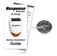 Response Friedland Alarms SLR Remote Control Replacement Response Battery KIT