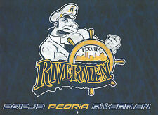 PEORIA RIVERMEN 2012-13 calendar Jake Allen/Ryan Reaves/Philip McRae AHL hockey