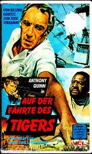 """VHS - """" Auf der Fährte des TIGERS """" (1976) - Anthony Quinn - John Phillip Law"""