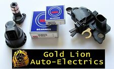 VW GOLF LT BORA PASSAT BOSCH ALTERNATOR VOLTAGE REGULATOR PLUS REPAIR KIT