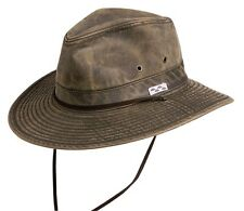 NEW Conner Packable Crushable Cotton Poly Hiking Hunting Fishing Hat Brown LARGE