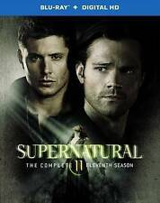Supernatural: The Complete Eleventh Season (Blu-ray Disc, 2016, 4-Disc Set,...